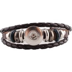 Leather Bracelet_KC0645_Brown