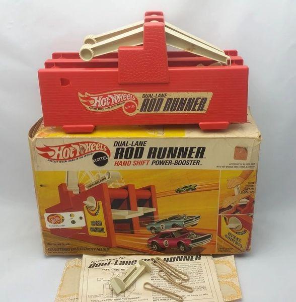 Vintage Hot Wheels Rod Runner Hand Shift Power-Booster