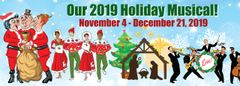 "Hunterdon Playhouse ""Holiday Musical"" - Tues, November 19, 2019"