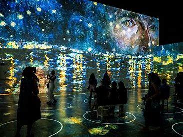 Van Gogh Immersive Exhibit - Thurs, October 14, 2021