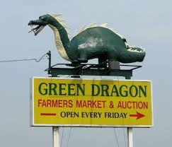Green Dragon Flea Market & Shady Maple Smorgasbord - Fri, October 15, 2021