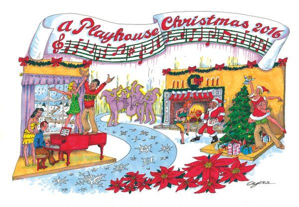 "Hunterdon Playhouse presents ""A Playhouse Christmas"" - Tues, December 14, 2021"