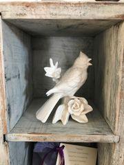 Vintage Porcelain Cardinal Figurine