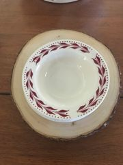 Homer Laughlin Bread Plate and 2 Sauce Bowls