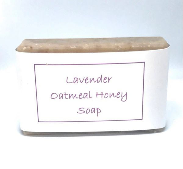 Lavender Oatmeal and Honey Soap