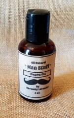 "All Natural Beard Oil ""Man Stuff"""