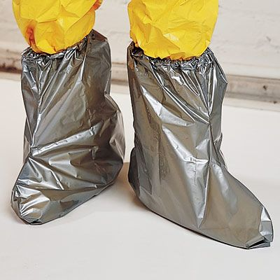 North Silver Shield Booties | SSB | 4H | New