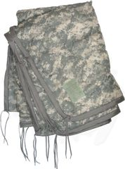 Wet Weather Poncho Liner, ACU Digital Camouflage | USED
