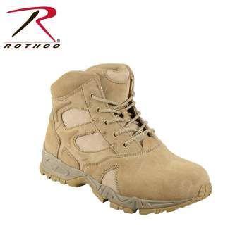 Rothco 6 Inch Forced Entry Desert Tan Deployment Boots