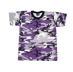 KID'S PURPLE CAMO T-SHIRT