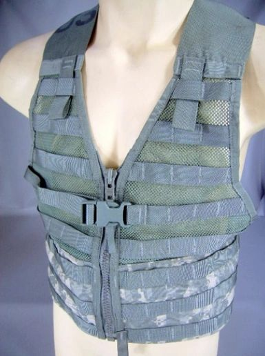 MOLLE II Fighting Load Carrier Vest | ACU | USED