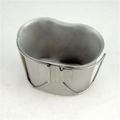 USGI Stainless Steel Water Canteen Cup | Used