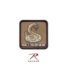 Don't Tread On Me Square Morale Patch