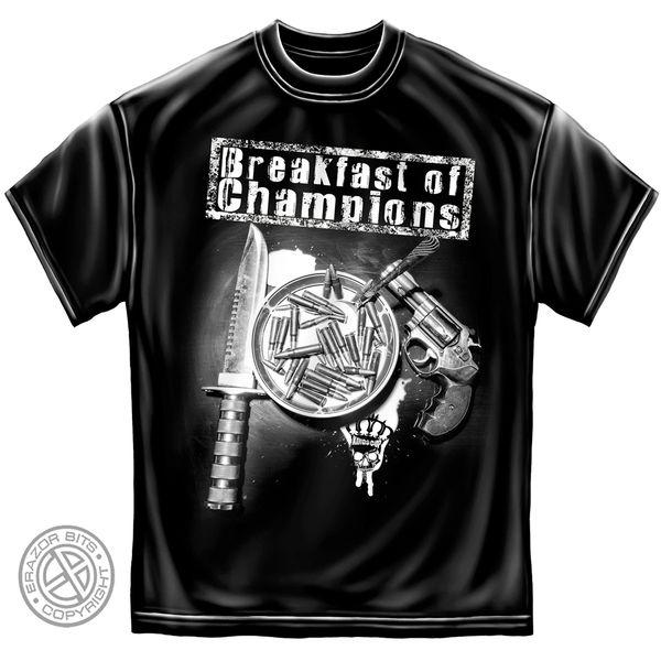 BREAKFAST OF CHAMPIONS T-SHIRT
