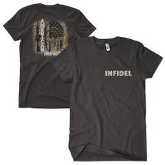 American Infidel / Black T-Shirt