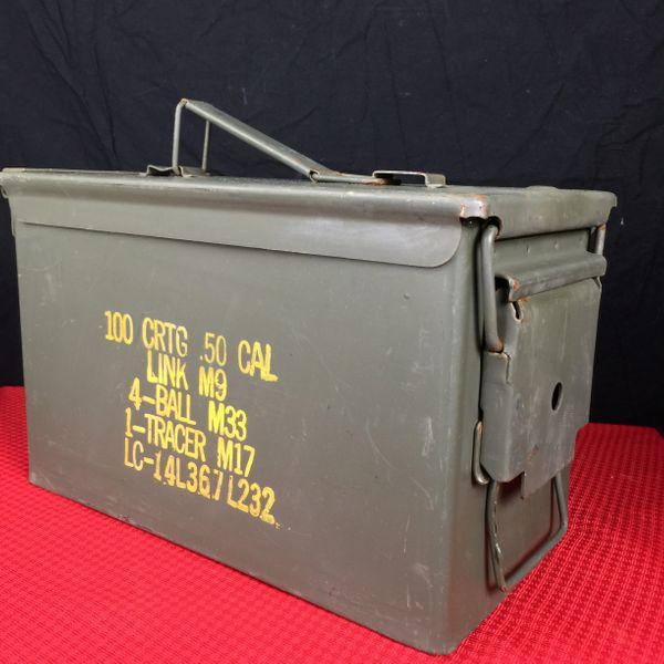 AMMO CAN - .50 CAL | 8140-00-960-1699