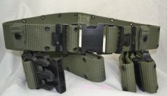 Military Issue Pistol Belt | OD