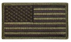 American Flag Patch with Velcro