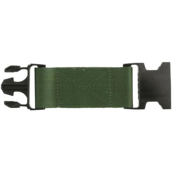 Pistol Belt Nylon Extension   Black Buckle