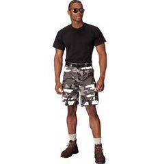Colored Camo BDU Shorts