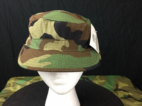 HOT WEATHER BDU CAP | WOODLAND CAMO