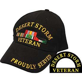 DESERT STORM VETERAN CAP