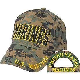 MARINES DIGITAL CAMO CAP