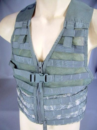NEW MOLLE II Fighting Load Carrier Vest | ACU
