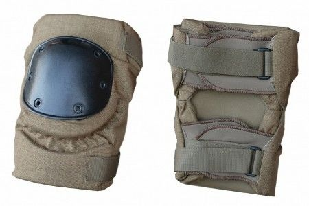 Military Knee Pads | Coyote Brown | Large | Used