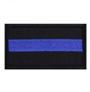 Thin Blue Line Patch with Velcro