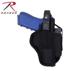Ambidextrous Tactical Belt Holster with Clip