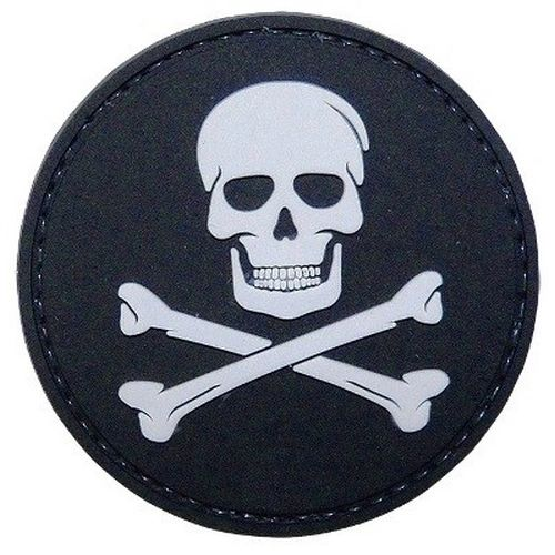 PVC MORALE PATCH - JOLLY ROGER