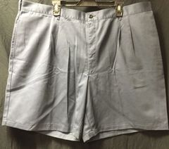 Navy Blue Pleated Men's Shorts 8405014771232   Size 46