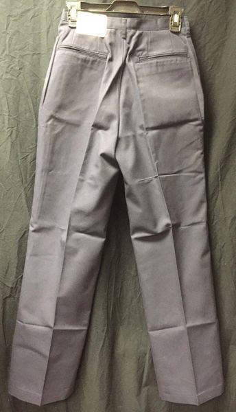 Navy Blue Pleated Women's Utility Work Pants 16MPx30