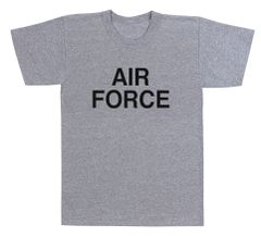 Air Force Grey Physical Training T-Shirt | 61020