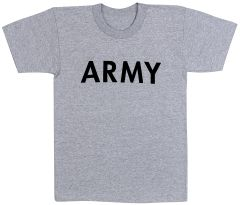 Army Grey Physical Training T-Shirt | 6080