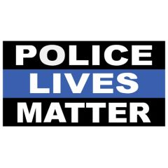 Police Lives Matter Decal 10-480
