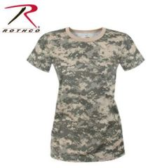 WOMEN'S LONGER ACU DIGITAL CAMO T-SHIRT | 5677