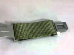 Pistol Belt Nylon Extension | Gray Buckle