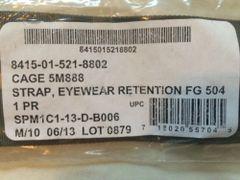 Helmet Eyewear Retention Straps | 8415015218802