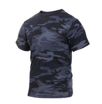 Midnight Blue Camo T-Shirt