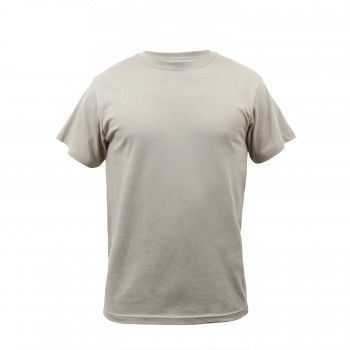 Solid Color 100% Cotton Military T-Shirts