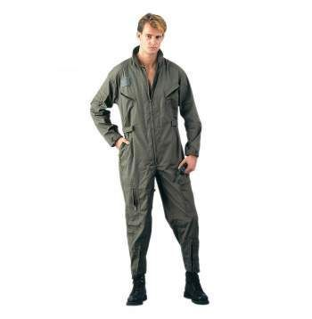Military-Style Long Sleeve Flightsuits