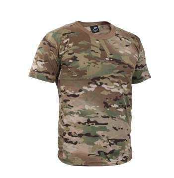 Multicam Camouflage Short-Sleeve T-Shirt | 6286