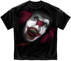EVIL CLOWN SCREAMING T-SHIRT | RN2315