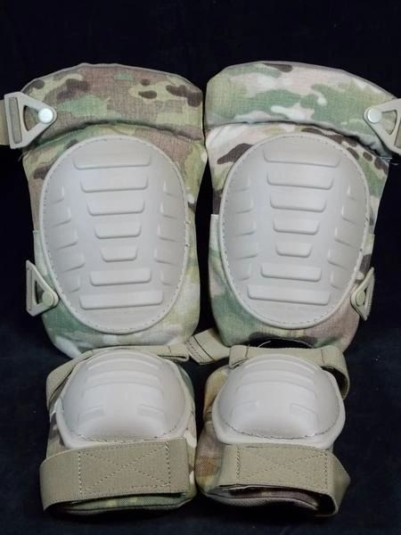 ELBOW & KNEE PAD SET, ONE SIZE FITS ALL, RFI ISSUE, MULTICAM (OCP)