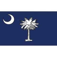 FLAG - SOUTH CAROLINA (3ftx5ft)