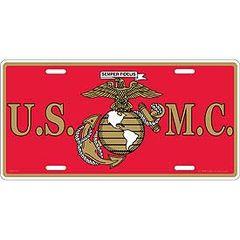 USMC LICENSE PLATE | LP0550
