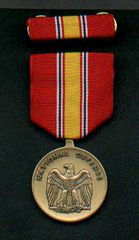 MEDAL SET; NATIONAL DEFENSE SERVICE 8455-00-281-3214