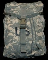 MOLLE II Sustainment Pouch | ACU | Used 8465-01-524-7226